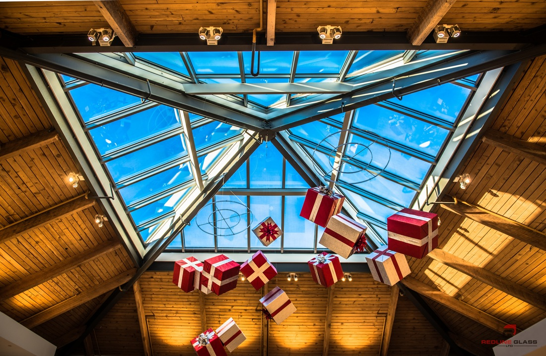 hillside mall skylight commercial glass company victoria bc