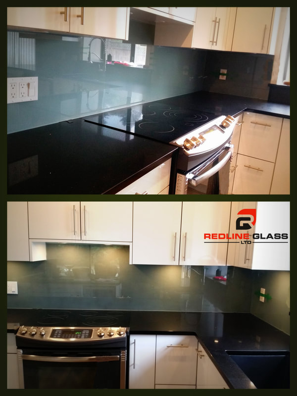glass sheet backsplash kitchen design victoria company manufacture install company redline vancouver island custom
